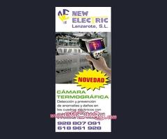 New Electric Lanzarote NOVEDAD Cámara Termográfica