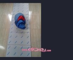 Saco de dormir con funda y colchoneta térmica