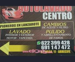 """""""AUTOLAVADO CENTRO"""" , Pioneros en Lanzarote"""