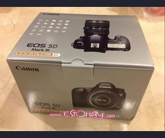 Canon EOS 5D Mark III 22.3 MP Digital SLR Camera.