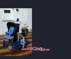 carro de bebe con maxicosi