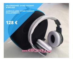 Auriculares Inalámbrico SYNC by 50 Cent (Blanco)