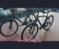 Bicicletas hibrida barra alta y  baja