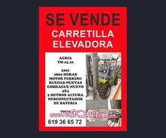 CARRETILLA ELEVADOR AGRIA TM1516