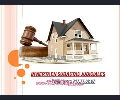 INVIERTA EN SUBASTAS JUDICIALES