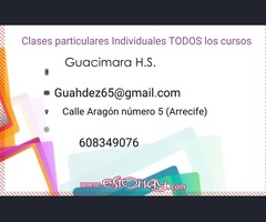 Clases individuales