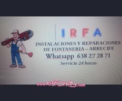 IRFA Instalaciones y Reformas de Fontaneria Arrecife
