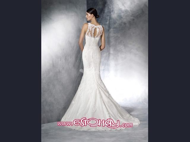 precioso vestido de novia firma white one barcelona arrecife