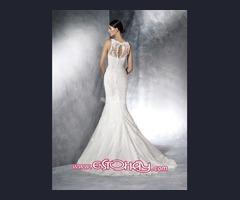 Precioso Vestido de novia Firma White One Barcelona