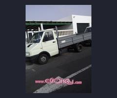 Vendo camioneta Iveco caja abierta,o cambio por furgoneta cerrada