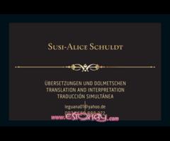Translations. Traducciones. Übersetzungen