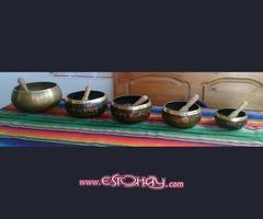 Auténticos cuencos tibetanos originales