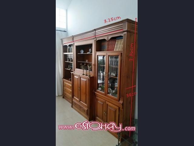 Mueble rustico de madera Montaña Blanca » EstoHaycom revista