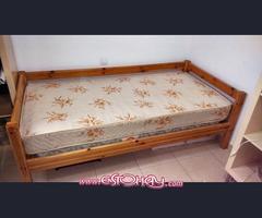 cama de soltero con colchon