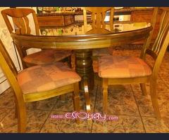 Mueble salón + mesa con 6 sillas