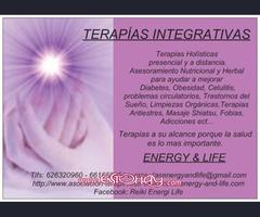 ASOCIACIÓN TERAPÉUTICA INTEGRATIVA ENERGY & LIFE