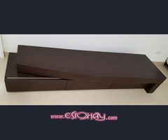 Mueble TV de diseño- madera maciza