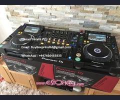 Pioneer CDJ-2000NXS2  costó $1100 y   Pioneer DJM-900NXS2 por $1100