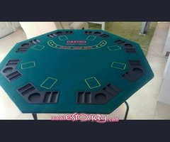 mesa poker cn patas plegable