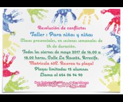 Taller de resolucion de conflicto para niños
