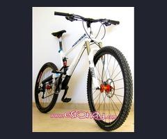 mtb bicicleta fox commencal