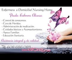 Enfermera a domicilio// Nursing home