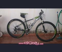 Mountain bike 29 Mérida big nine xt de aluminio completamente tuberizada