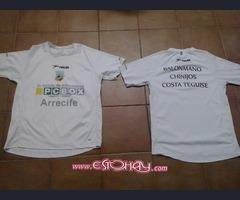 Camisetas de balonmano