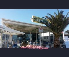Se traspasa restaurante a pie de playa
