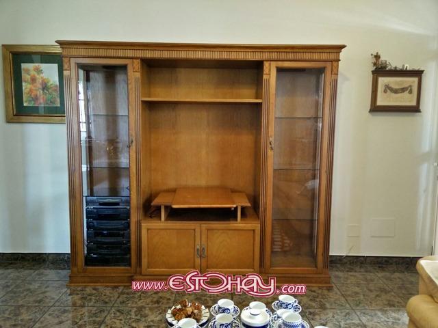 mueble madera maciza roble en muy buen estado san