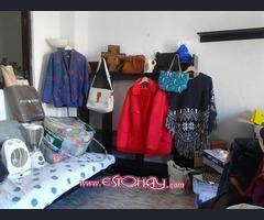 bolsos y ropa (causa mudanza)