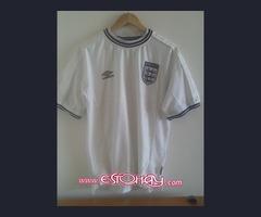 Camisa de Futbol Clásico Inglaterra Umbro Réplica