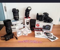 Canon EOS 70D Cámara Digital SLR de 20.2MP - Negro (Kit con EF-S 18-135mm