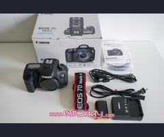 Canon EOS 7D Mark II Cámara digital con Canon BG-E16 Batería Grip
