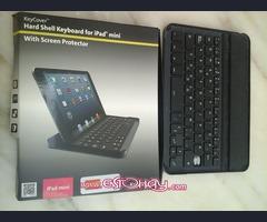 Teclado duro de Shell para I Pad Mini con protector de pantalla