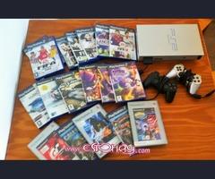 Vendo PS2 + Juegos