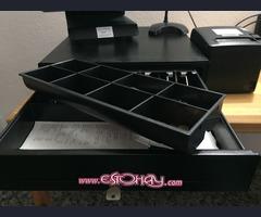 TPV tactil con caja registradora e impresora