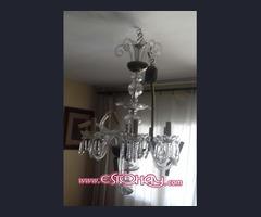 Lámpara  araña antigua