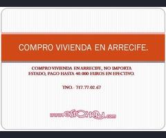 COMPRO VIVINEDA EN ARRECIFE