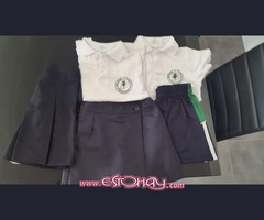 School Tshirt,  skort and gym shorts for The British School of Lanzarote