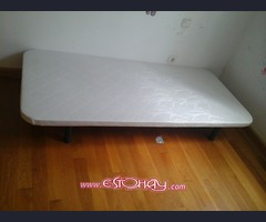 2 x somieres individuales2 single bed bases
