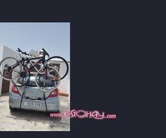 High lift bike rack