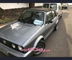 Vendo VW Golf Cabriolet 1988