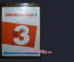 Vendo libro Sociales 3 Primaria