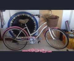 Bicicleta de Paseo mujeres muy bonita