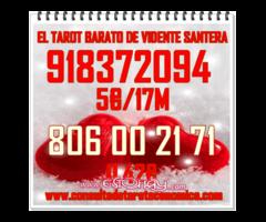 TAROT BARATO DEL AMOR 5€/17M 918372094