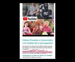 Videos HD Editados a tu gusto y a la medida de tu presupuesto!