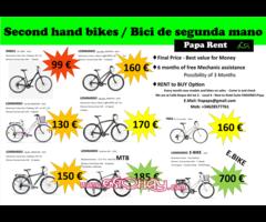 Venta de bici segunda mano varios Modelos