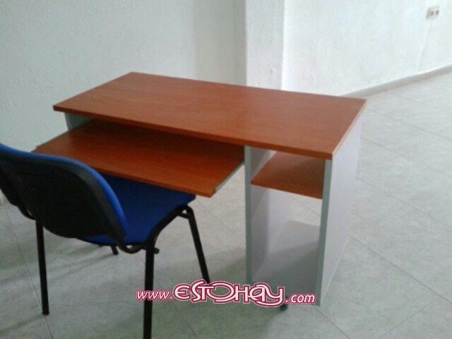 Mesas escritorio peque as y grandes revista - Mesas pequenas ordenador ...