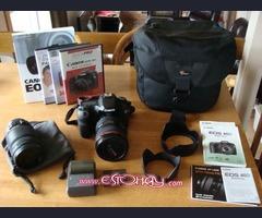 Cámara Canon DSCR EOS 40D 10.1 MP